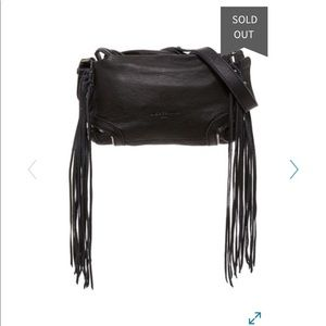 Liebskind Berlin Leather Fringe Crossbody Bag
